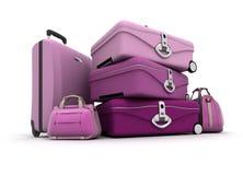 De bagage van de dame Royalty-vrije Stock Afbeelding
