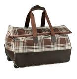 De bagage van het leer Stock Foto