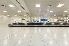 De bagageband van de luchthaven Stock Afbeelding