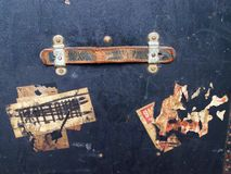 De Bagagelabels & de Etiketten van de reis Stock Foto