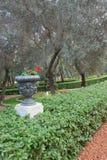 ` De Baha mim santuário e templo em Hafia como visto completamente a entrada média Foto de Stock