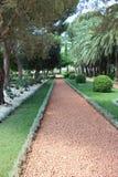 De Bahai trädgårdarna arkivfoton
