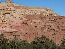 De Bak Haddu van Ksarajt dichtbij Warzazat in Marokko royalty-vrije stock afbeeldingen
