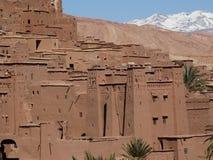 De Bak Haddu van Ksarajt dichtbij Warzazat in Marokko royalty-vrije stock foto's