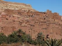 De Bak Haddu van Ksarajt dichtbij Warzazat in Marokko stock foto