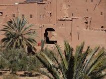 De Bak Haddu van Ksarajt dichtbij Warzazat in Marokko royalty-vrije stock afbeelding
