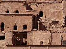 De Bak Haddu van Ksarajt dichtbij Warzazat in Marokko royalty-vrije stock foto