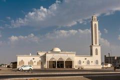 De bak Ibrahim Mosque, Thuwal, Saudi-Arabië van Mohammed stock afbeelding