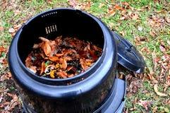 De bak van het compost Stock Foto