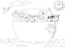 De Bak van Noahs stock illustratie