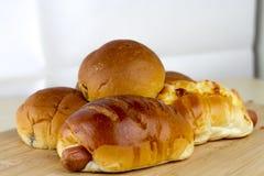 De bakkerij van het brood Stock Afbeeldingen