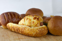 De bakkerij van het brood Stock Afbeelding