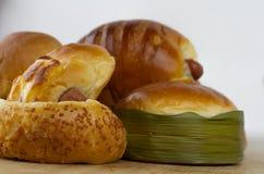 De bakkerij van het brood Stock Foto's