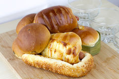 De bakkerij van het brood Stock Fotografie