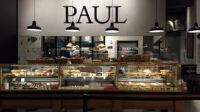De bakkerij van Paul stock foto's