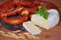 De bakkerijgraangewas van het Brood van de kaas stock foto