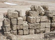De baksteen van de adobe Stock Foto