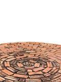 De baksteen van de cirkel Stock Foto's