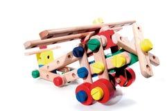 De baksteen van het stuk speelgoed Royalty-vrije Stock Afbeeldingen