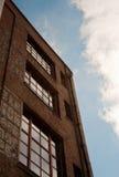 De baksteenbouw Stock Foto's