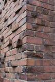 De baksteenhoek van Klinker of Clinker Stock Fotografie