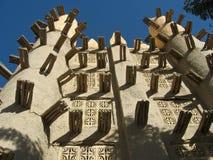 De baksteenmoskee van de modder, Saba. Royalty-vrije Stock Afbeelding