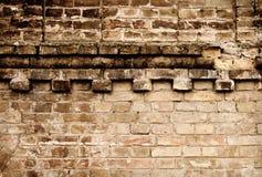 De baksteentextuur van Grunge Stock Foto's