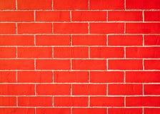 De bakstenen muren rode achtergrond Stock Foto