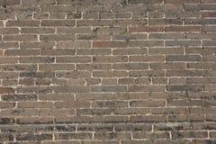De bakstenen muur Stock Foto's