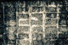 De bakstenen muur is oud Royalty-vrije Stock Foto