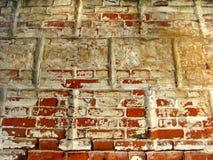 De bakstenen muur van Achtergrond grunge textuur Royalty-vrije Stock Afbeeldingen