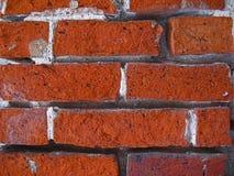 De bakstenen muur van Adged Royalty-vrije Stock Foto