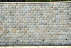 De bakstenen muur van de steen Royalty-vrije Stock Foto's