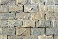 Steenbakstenen muur royalty-vrije stock foto