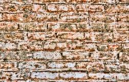 De Bakstenen muur van Grunge stock afbeeldingen