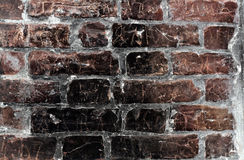 De bakstenen muur van Grunge Royalty-vrije Stock Afbeelding