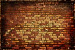 De bakstenen muur van Grunge Stock Foto
