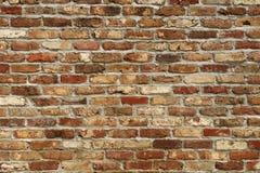 De bakstenen muur van Grunge royalty-vrije stock foto