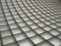 De Bakstenen muur van het glas Stock Foto