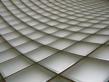 De Bakstenen muur van het glas Stock Fotografie