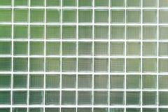 De bakstenen muur van het glas Royalty-vrije Stock Afbeelding