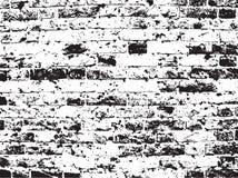 De bakstenen muurachtergrond van Grunge Stock Afbeelding