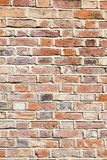 De bakstenen muurachtergrond van het kalkmortier Stock Afbeelding