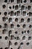 De bakstenen muurtextuur van de steen stock afbeeldingen