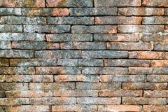 De bakstenen muurtextuur van Grunge Stock Afbeelding