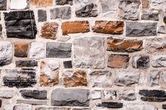 De bakstenen muurtextuur van Grunge Royalty-vrije Stock Foto's