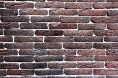 De bakstenen muurtextuur van Grunge Stock Fotografie