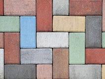 De bakstenen van de betonmolen Royalty-vrije Stock Fotografie