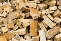 De Bakstenen van de brand Stock Foto
