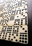 De bakstenen van de domino Royalty-vrije Stock Afbeelding